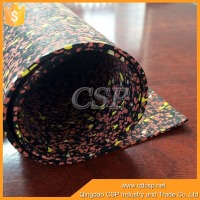 outdoor waterproof anti-slip thin rubber sheet