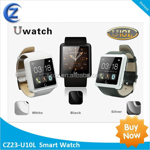 China supplier high quality Uwatch <strong>U10</strong> Smart Watch <strong>U10</strong> Uwatch 1.44''Touch Screen with Mic and music player Uwatch U10L