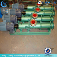 G type positive displacement pump single progressive cavity pump