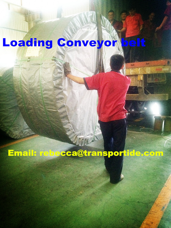 Long life heat resistant hard-wearing conveyor belt
