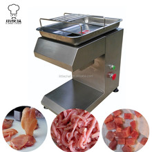 Restaurant hotel Comercial desktop fresh meat slicer meat cutting machine meat cutter