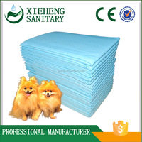 OEM non-woven fabric absorbent disposable puppy training pads factory