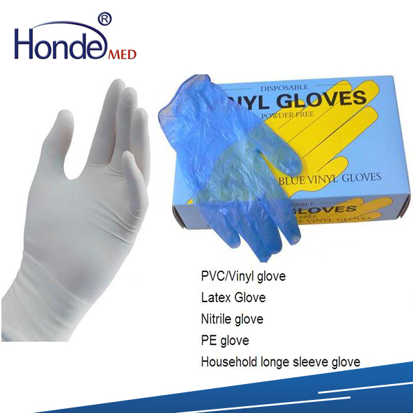 disposable medical hand gloves