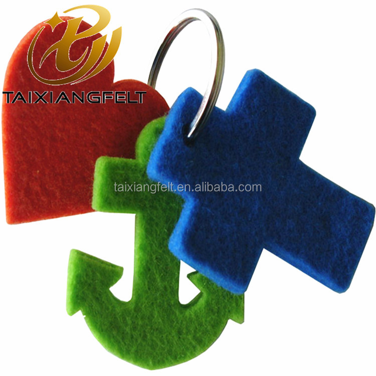 wool polyester key chain wholesaler