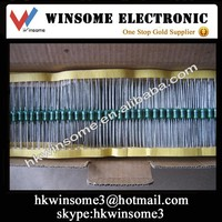 High Power Resistor Axial Carbon Thick