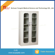 Hospital furniture Wholesale Cheap metal Hospital Dental Storage Cabinet clinic for sale