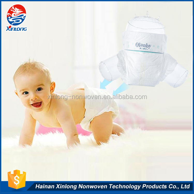 Hot-selling promotional OEM custom magic tape hugs disposable sleepy baby diapers