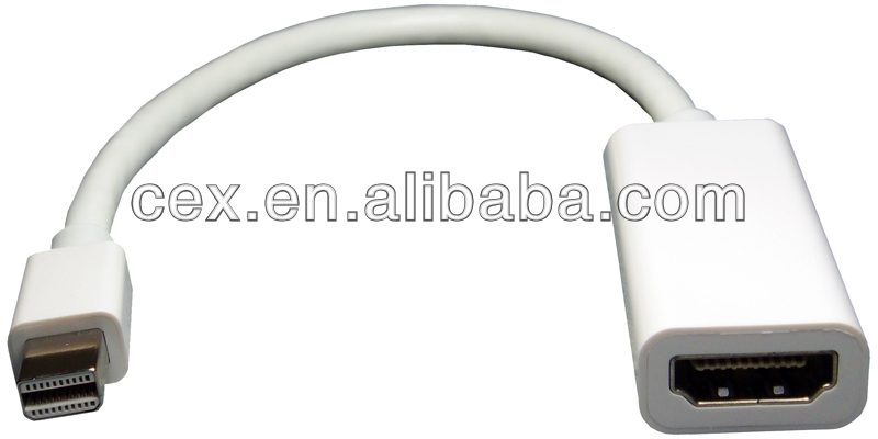 For Apple Display Port Mini DP to HDMI Cable Adapter
