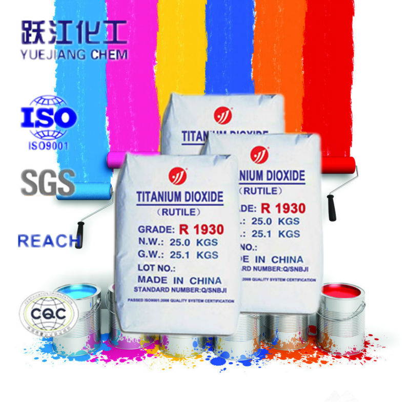 Titanium dioxide for interiot&exteriot paint