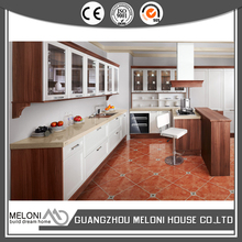 flat pack interior stylish pvc american kitchen cabinet for home