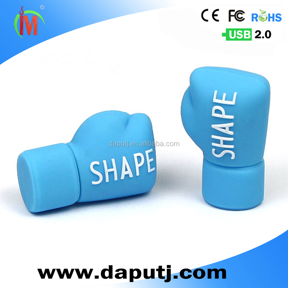 customized usb flash drive boxing glove shape usb pen drive innovative item with 3d design attractive usb