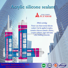 acetic silicone sealant for semi transparent mirror/ acrylic silicone sealant supplier/ acid silicone sealant