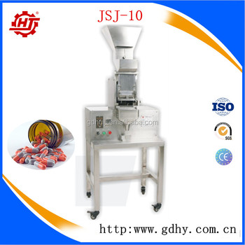 JSJ-10 Automatic soft gelatin & tablet counting machine counter for bottle filling
