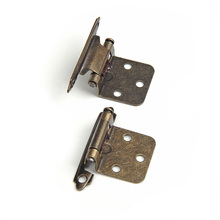 Supply Jewelry Gift Wine Wooden Box Hinge Mini Small Metal Hinges with Screws Miniature furniture component