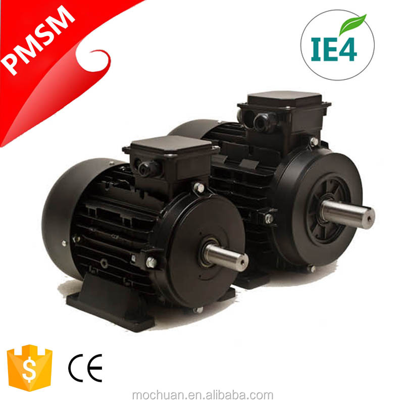 small volume IE4 3hase 380v permanent magnet electric ac motor 7.5kw