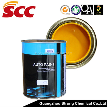 UN-S20 UNIC 2K Iron oxide yellow (transparent) automotive base coat