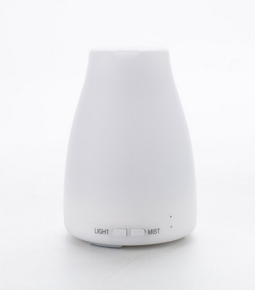 Night light 7 colors ultrasonic aroma diffuser essential oil air humidifier 100ml