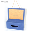 Naham Home Decor Hanging Calendar & Tissue Box