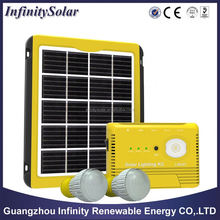 5W Portable Solar Power/Energy Home System Kits DC output