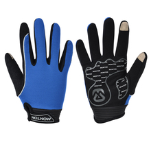 MONTON Wholesale Cycling Accessories Cheap Full Finger Bike Gloves