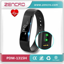 New Arrival Smart Pedometer Wristband Activity Fitness Tracker Optical Sensor Heart Rate Pulse Watch