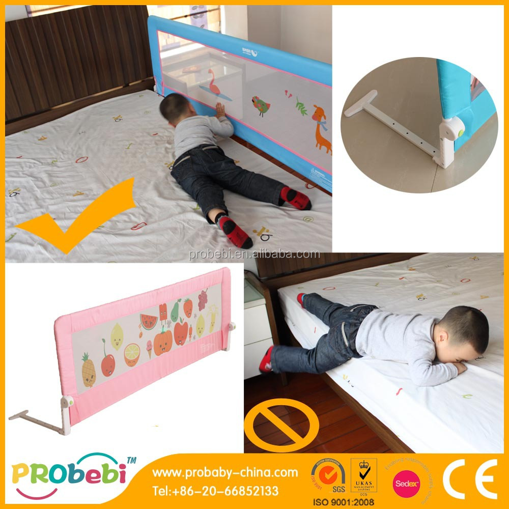 Baby bed fall prevention - Kids Bed Rails Bed Fall Prevention Baby Bed Guard