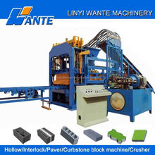 QT4-15 Factory Direct Supplier machine for making concrete block for mining production line use