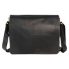 1053 Moshi Vintage Leather Crossbody Bag Messenger Bag Business Briefcase for Men