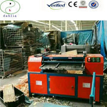 Cutting Recycle equipment waste car radiator copper tube extracting machine for copper radiator fin