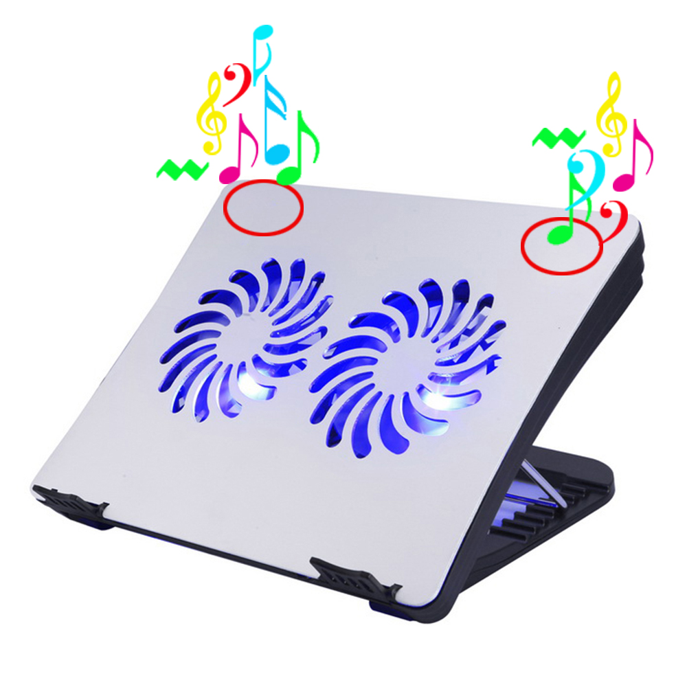 USB laptop cooling pad with 2.0 speakers manufacturer in China