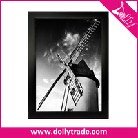 Windmill DIY Picture Photo Frame Natural Scenery Oil Painting