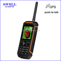 Factory telephone mobile phone original X6 IP67 Waterproof gps walkie talkie anti-shock rough diamonds