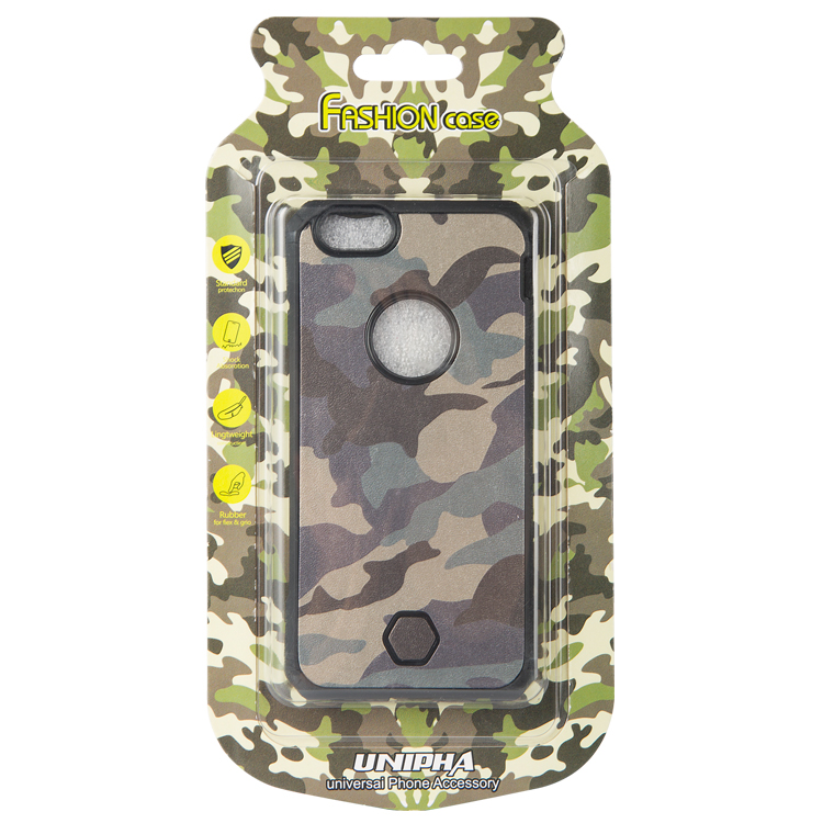 2 in 1 phone case mobile phone case camouflage pc tpu phone case for Iphone