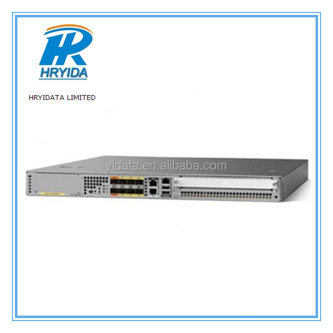 Cisco ASR1001-X System, Crypto, 6 built-in GE, Dual P/S
