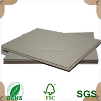 double side grey board manufacturer gray paper 1200gsm
