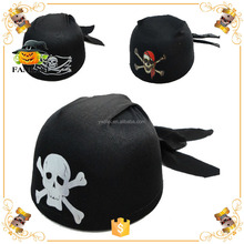 Halloween Party Pirate Hat Kids with Skull