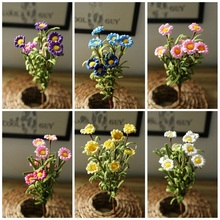 High End Environmental Home Decoration Simulation Daisy PE Artificial Flowers