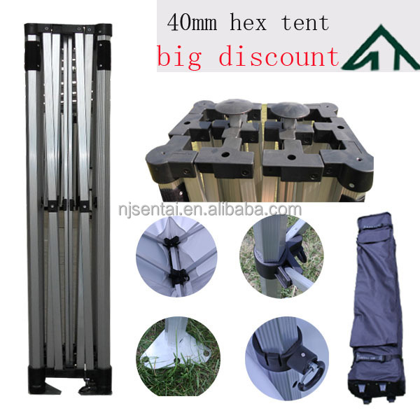 3x6m 10'x20' new gazebo high quality chinese factory folding aluminum outdoor tent