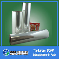 Laminated plastic bopp film for bag making