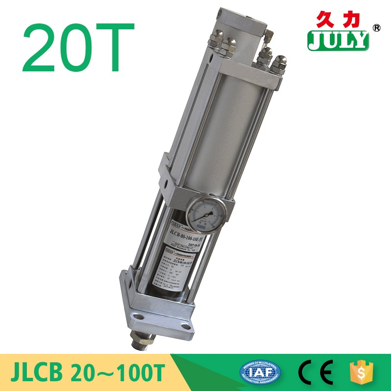 factory offer JULY top quality iso extruded aluminum pneumatic cylinder