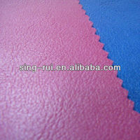 Cow Skin Calzado PU Synthetic Leather Raw Material For Shoe Making(cuerina sitetica)