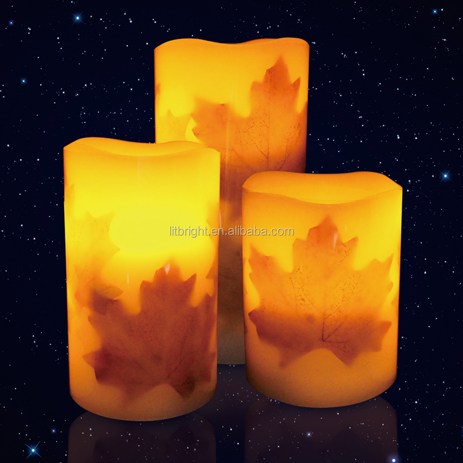 Wax Flameless Led Candle,Real Wax Led Candle,led paraffin wax candle light wholesale