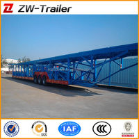heavy duty car / vehicle transport semi trailer ( close - ended type )