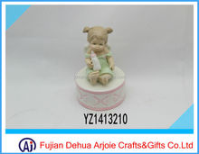 2014 new porcelain musical box baby products