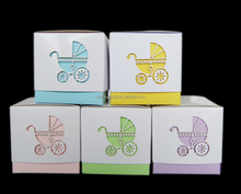 2016 Top Quality Fashion Custom Handmade Paper Box for Baby Shower Party