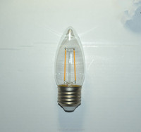 C35 E14 E27 candle bulb led filament light lamp