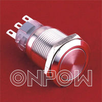 ONPOW Metal Push Button (Dia.19mm) LAS1-AGQ
