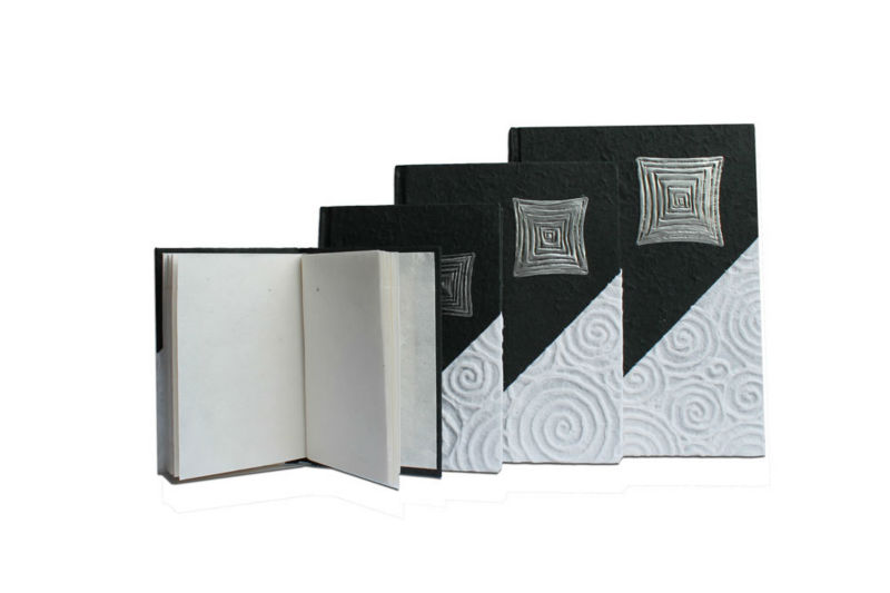 luxury handmade paper note book