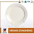 Stocked high quality round beautifu ceramic plate ceramic soup dish
