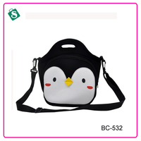 New 2016 child animal shape cooler bag picnic lunch bag for kids